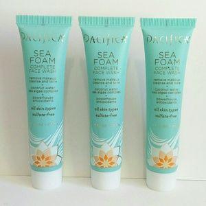 Pacifica Sea Foam Complete Face Wash 3 Pack